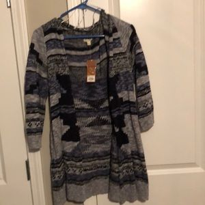Blue and grey camisole